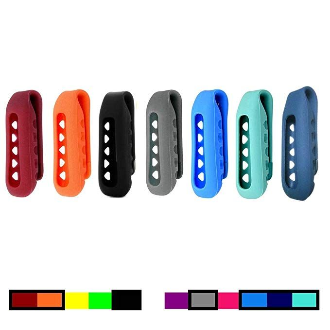 Dunfire Colorful Replacement Clip Holder Fitbit One Wireless