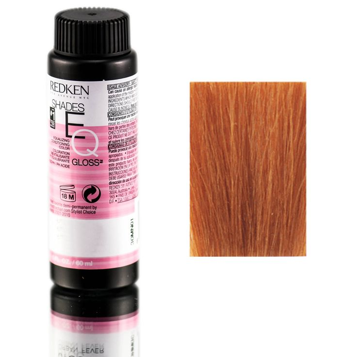 Redken Shades EQ Equalizing Conditioning Color Gloss 07cc Curry