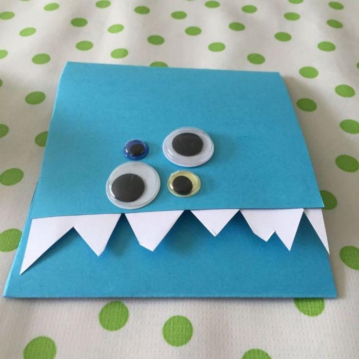 Monster uitnodigingen maak je simpel zelf met deze DIY!
