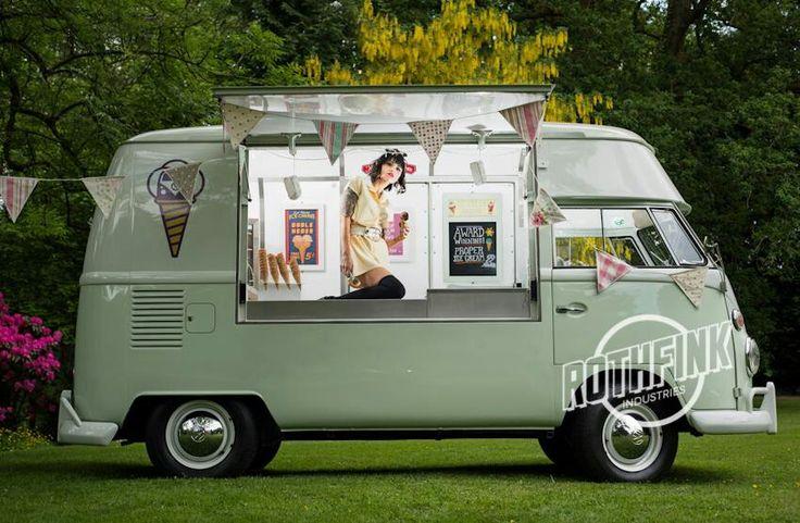 Rothfink vw van food trucks pinterest vw vans for Garage rose volkswagen fontainebleau samoreau