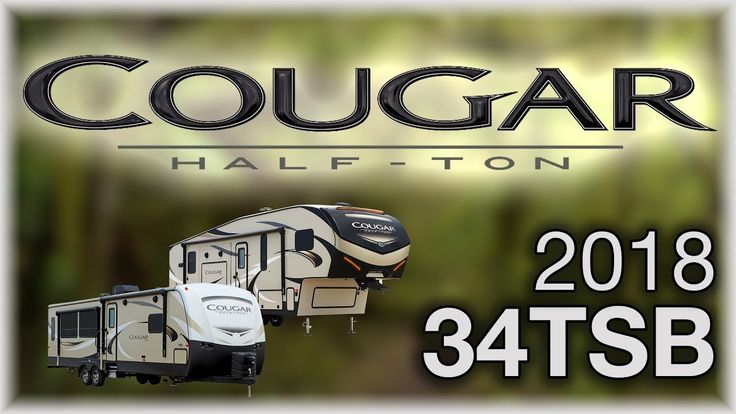 2018 Keystone Cougar Half Ton 34TSB Travel Trailer RV For Sale Lakeshore RV Center Find out more about 2018 Cougar Half Ton 34TSB at https://lakeshore-rv.com/cougar-half-ton-rv/cougar-half-ton-34tsb/?pr=true call 231.760.8805 or stop in and see one today!  Discover a multitude of features and innovations at a very reasonable price with the 2018 Cougar Half Ton 34TSB. Find yours today at Lakeshore RV Center!  This model is a double-axle travel trailer with three slide outs a fiberglass front…