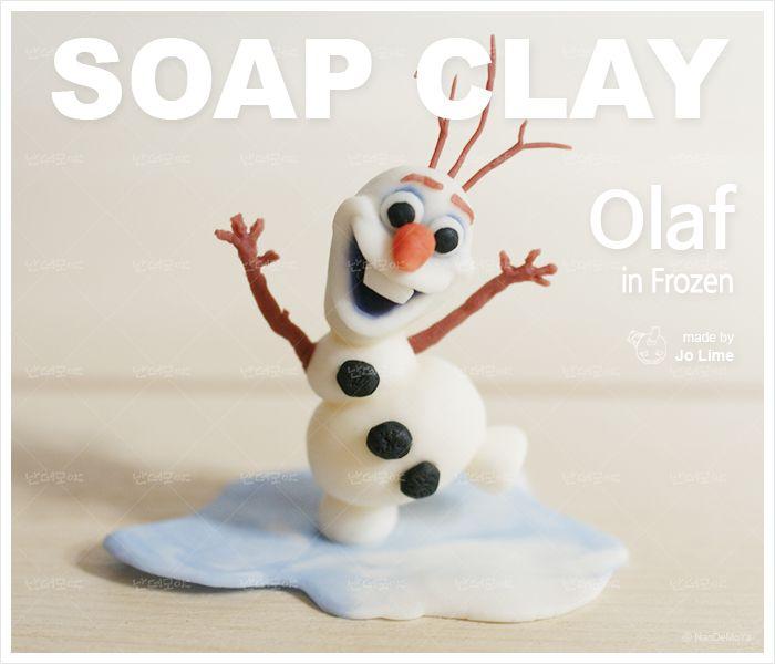 겨울왕국의 수다쟁이 눈사람, 올라프 미니어처 피규어 / Making 조라임 / Photo&Edit 조빈치 Olaf in Frozen / SOUP CLAY