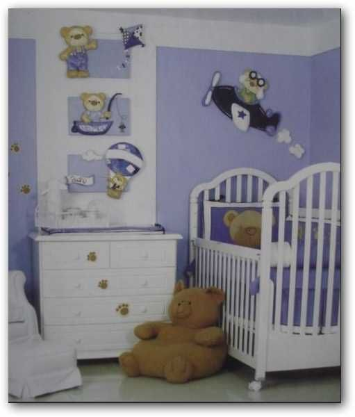 Best 25 cuartos de bebes varones ideas on pinterest - Habitaciones de ninos ...