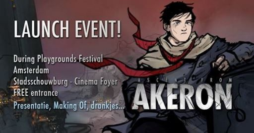On 6 November we celebrate the launching of Submarine Channel's latest interactive graphic novel Ascent from Akeron, during #playgroundsfestival #ascentfromakeron https://www.facebook.com/events/515923271904124/ There are still tickets, so come en get your ticket to the event! There are still tickets, so come en get your ticket to the event!