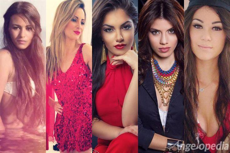 Miss Malta 2015 - Top 5 Favourites