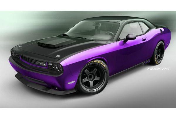 2012 Dodge Challenger SRT8 Project Ultraviolet Bows