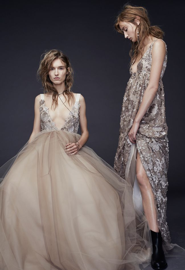 Vera Wang Fall 2015 Wedding Dresses