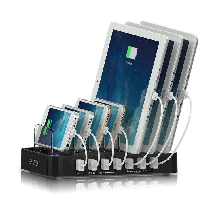 Satechi 7-Port USB Charging Station Dock #B00TT9O0SG
