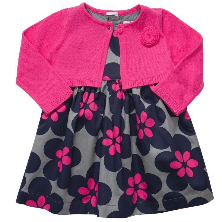 Carter's 2-Piece Sateen Dress Set | Baby Girl Dresses