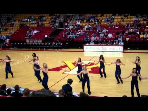 ▶ Encore! UVA Dance Team at VMI Basketball Game 2012 - YouTube