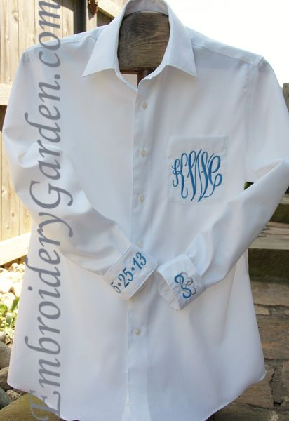 Bride shirt with new monogram, wedding date & intertwined hearts to wear while getting ready for the big day!