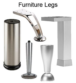 We Carry A Variety Of Furniture Legs Options From Hafele, Camar, Peter  Meier,