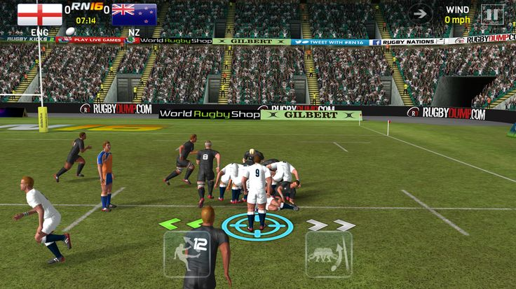 CONTROL EVERY MOVE WITH EASE  #Rugby Nations​ 16 new TOUCH controls allow you to master every move with ease, whether you are a seasoned RN pro or just getting started - we've kept the classic controls too, if that's you thing!   It also features a little cameo from #World Rugby Shop​ so it must be good.  http://fnky.link/rn16