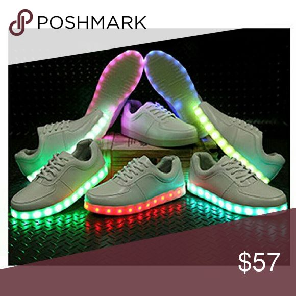 LED YEEZYS & TENNIS SHOES Led shoes with charger all sizes Shoes Sneakers