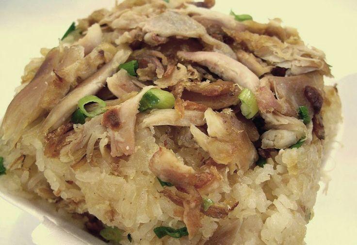 xoi ga,indonesische recepten kip,lontong,ketan met kip,kleefrijst met gebakken kip,wereldrecepten,wereldkeuken,kipgerecht indonesisch