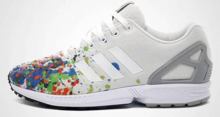 "adidas ZX Flux ""Splattered Toe"""