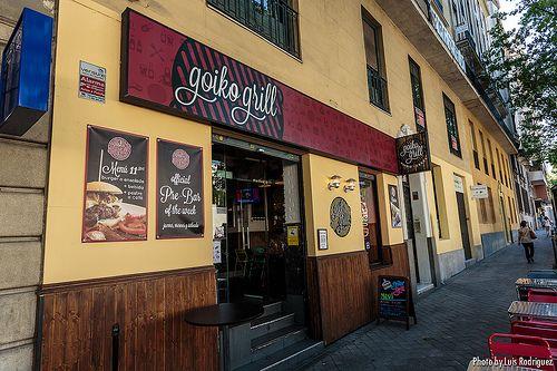 Goiko Grill, fantásticas hamburguesas en Madrid