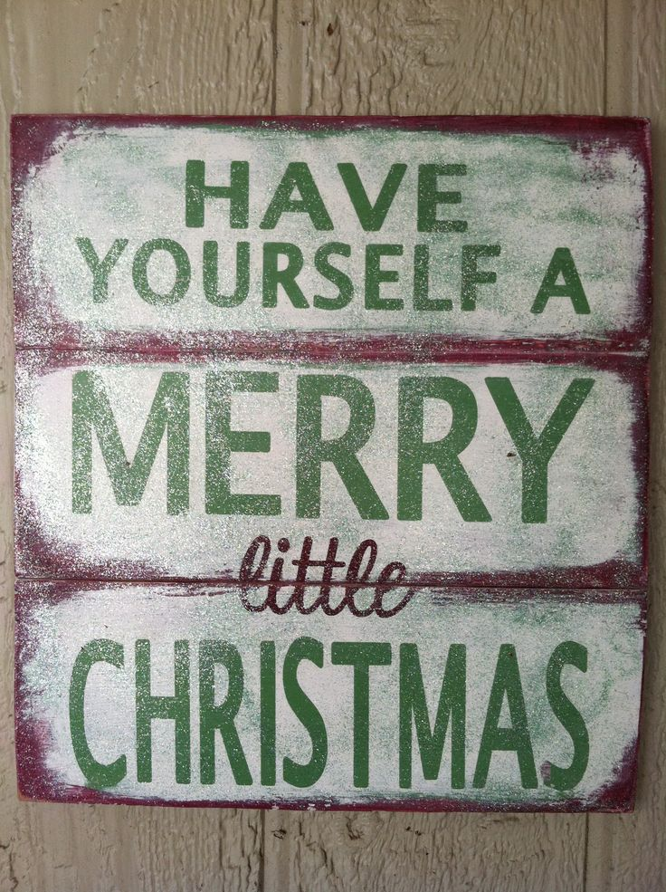 Love the rustic signs . . . #rusticchristmas #christmassigns