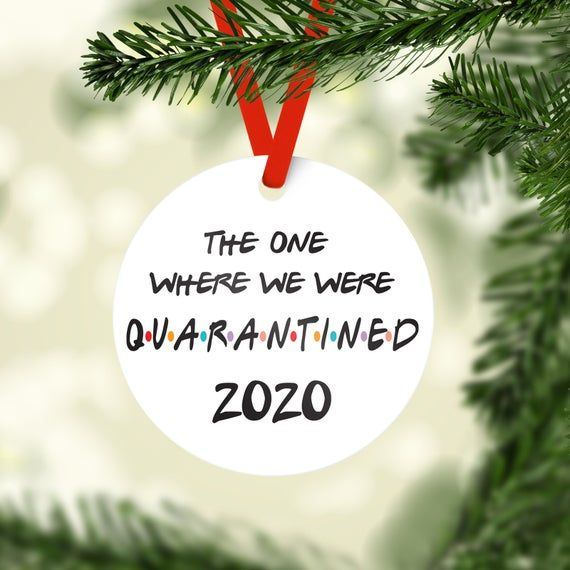 2020 The One Where We Were Quarantined Family Personalized Etsy In 2020 Christmas Ornaments Personalized Christmas Ornaments Family Christmas Ornaments