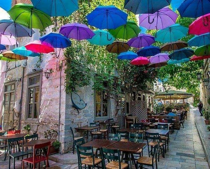 Syros island, Cyclades, Greece