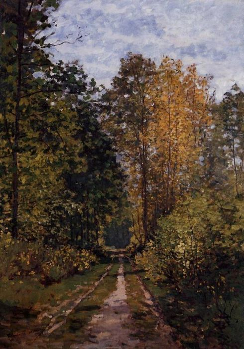 1865. Path in the Forest.