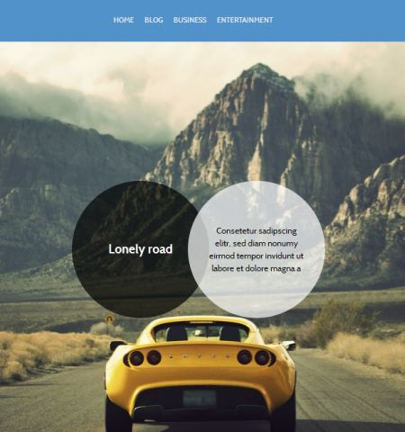 wp bs free theme adament