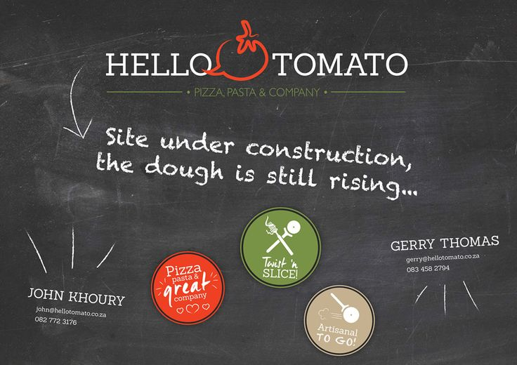 Hello Tomato Website