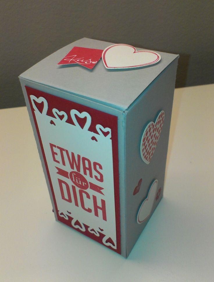 Verpackung, Packaging, Stampin' Up, Wimpeleien, Fähnchenfieber, Hearts a flutter, Geschenk, gift