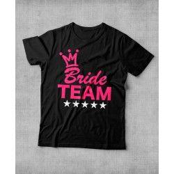 """Camiseta """"Noiva 5 estrelas"""" para Despedida de Solteira"""