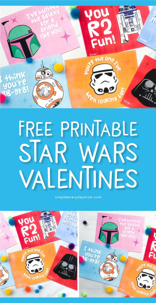 Free Printable Star Wars Valentines Every Fan Will Want Free