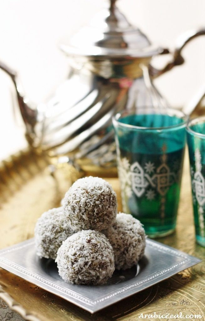 Date Truffles for Eid ... along with other step-by-step Eid Recipes