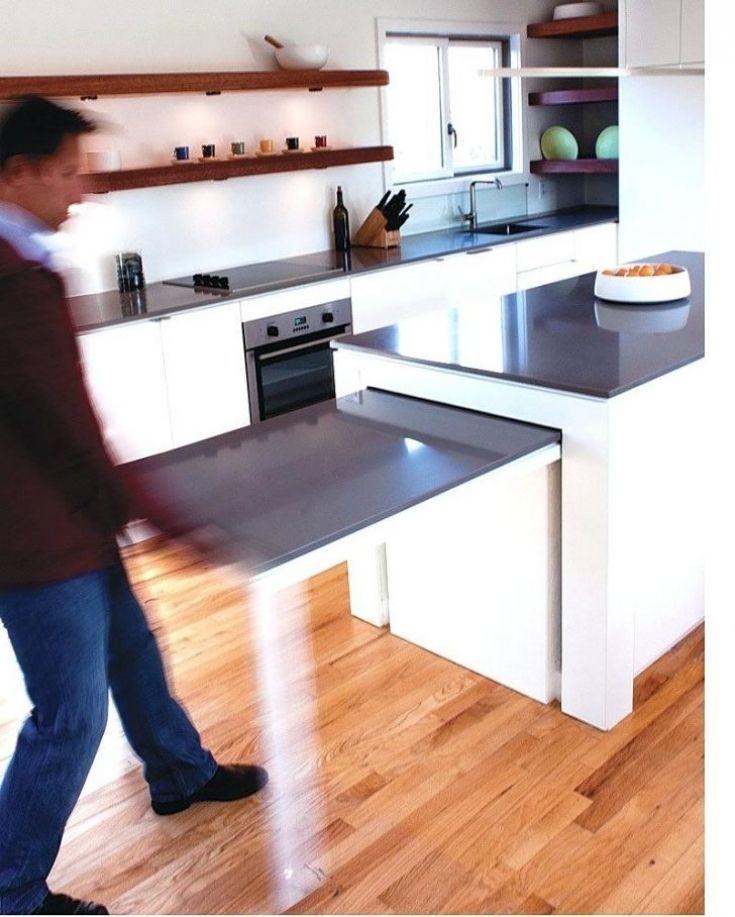 Amazing Diy Kitchen Island Ideas Kitchen Island And Table Combo Kitchen Island Dining Table Functional Kitchen Island