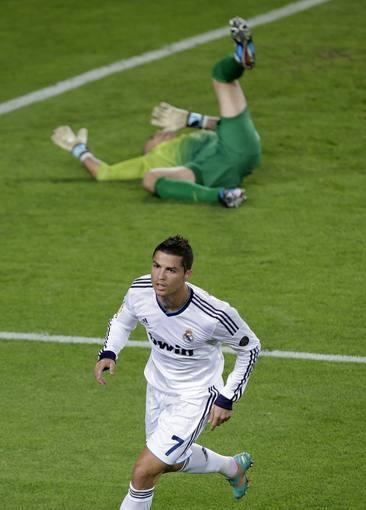 Cristiano Ronaldo, Real Madrid & Víctor Valdés, FC Barcelona | FC Barcelona 2-2 Real Madrid. 07.10.12.
