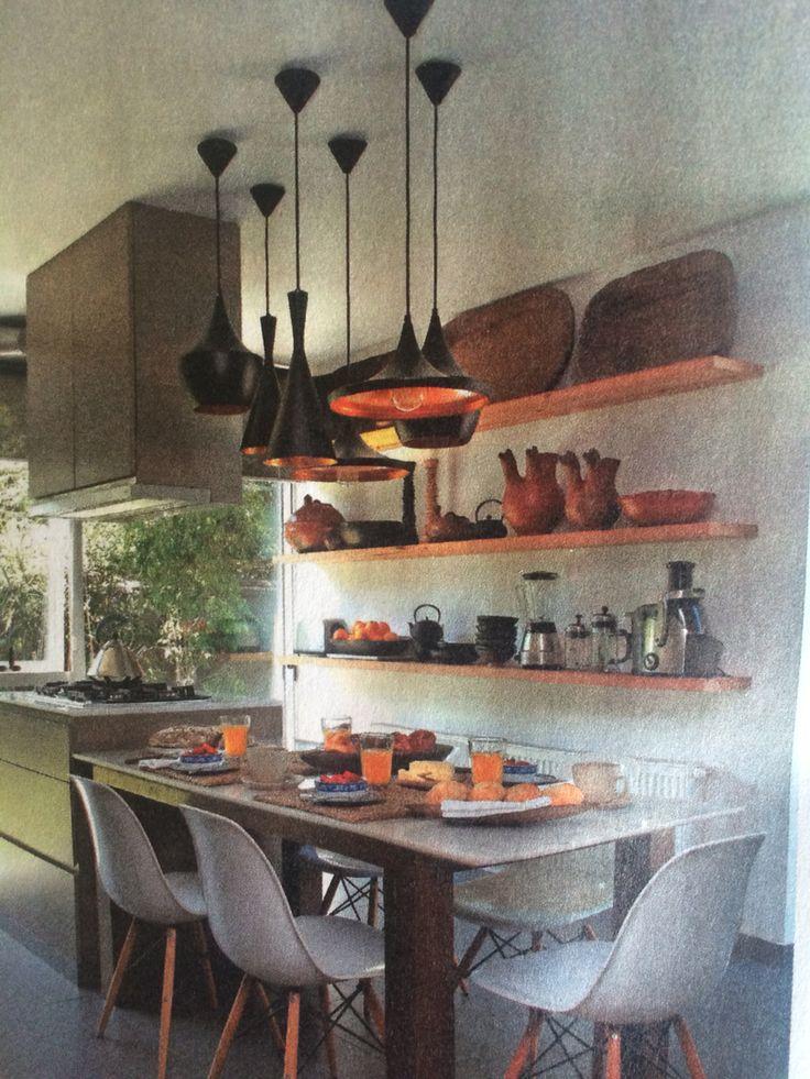 Comedor diario ideas para el hogar pinterest - Ideas para forrar una pared ...