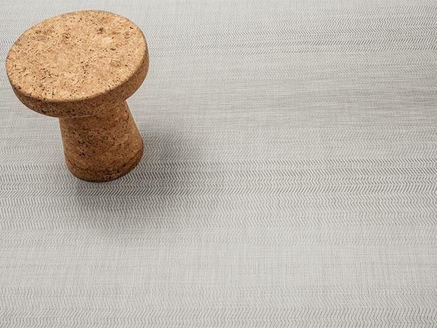 Wave Floor Mat   Grey