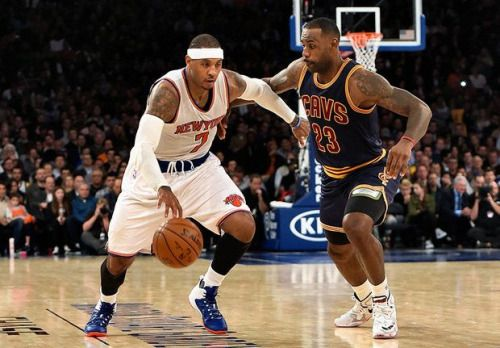 Carmelo Anthony joining LeBron James? Cavs, Celtics, Knicks have... #CarmeloAnthony: Carmelo Anthony joining LeBron James?… #CarmeloAnthony