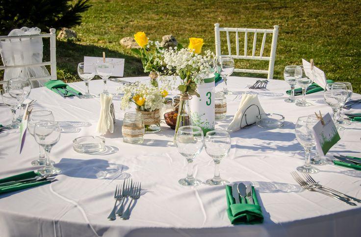 Nunta în grădină / Garden wedding.