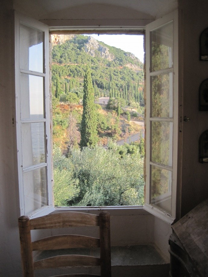 Patrick Leigh Fermor's home. Kardamyli, Greece