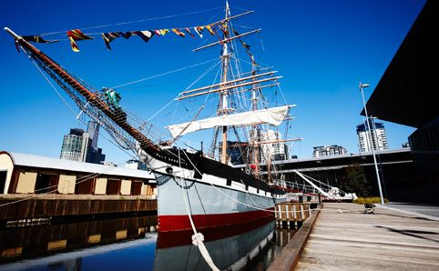 Polly Woodside -  After a four-year redevelopment, Melbourne's tall ship experience has reopened with impressive...