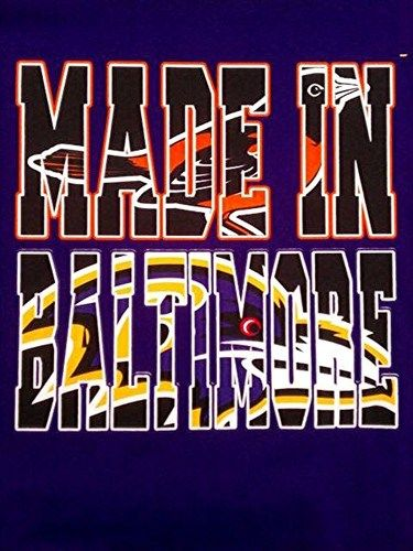 Made in Baltimore T Shirt Baltimore Ravens Orioles Shirts Gilden Shirt | eBay