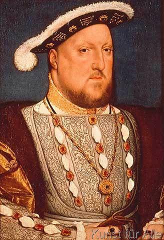 Hans Holbein der Jüngere - Heinrich VIII. von England / Holbein