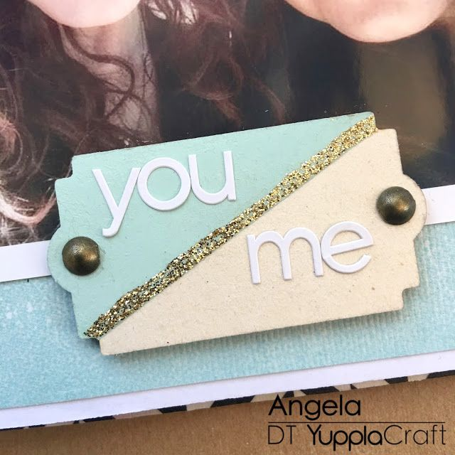 You Me Embellishment by Angela Tombari
