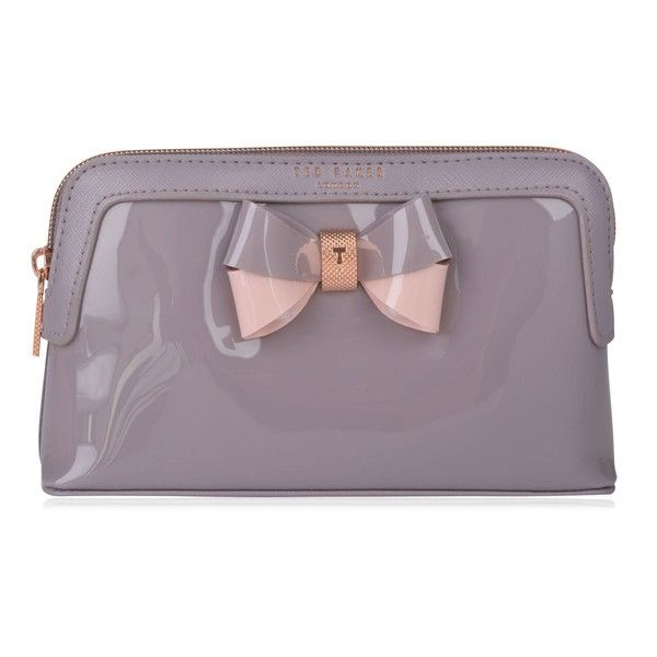 TED BAKER Rossam Makeup Bag found on Polyvore featuring beauty products, beauty accessories, bags & cases, makeup bag case, travel bag, make up bag, ted baker makeup bag and dop kit
