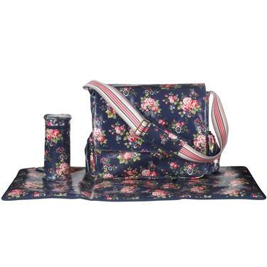Cath Kidston nappy bag. Not cheap!