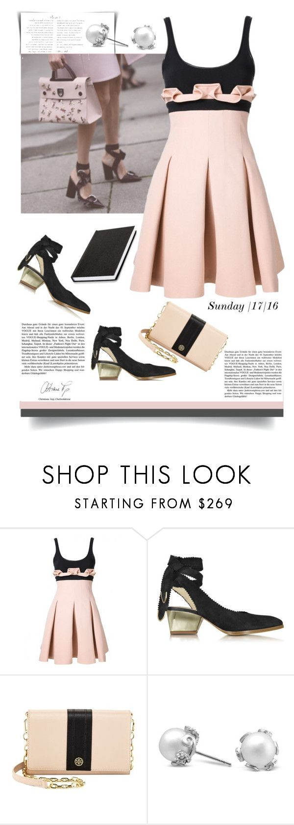 """""""Sunday Style'"""" by dianefantasy ❤ liked on Polyvore featuring David Koma, Zoe Lee, Tory Burch, inspiration, sunday, contestentry and polyvoreeditorial"""