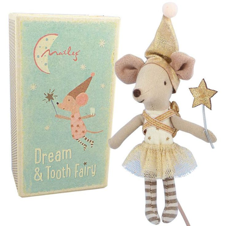 Maileg Tooth Fairy Mouse in Box, Girl with a Sack