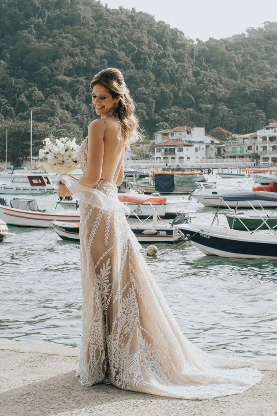 You must see this epic bohemian wedding on a tiny Brazilian island