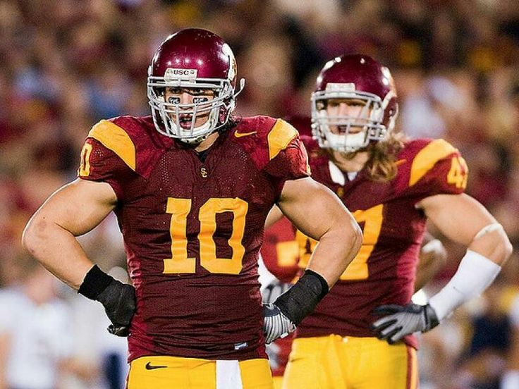 USC Football Brian Cushing Clay Matthews Jr....Best linebacking corp of all time time...period.