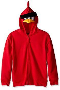 Angry Birds Big Boys Costume Hoodie, Red, Medium/10/12 http://www.shopprice.com.au/angry+birds+costume