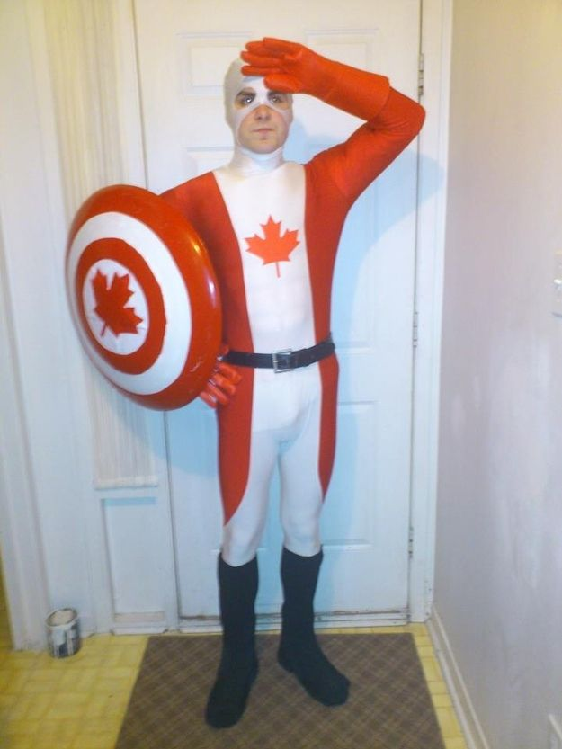 The 50 Best Halloween Costumes Of 2012...That is Captain Canada, one of the many awesome costumes.